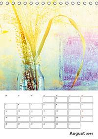 Blumige Fotomalerei (Tischkalender 2019 DIN A5 hoch) - Produktdetailbild 8