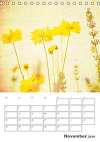 Blumige Fotomalerei (Tischkalender 2019 DIN A5 hoch) - Produktdetailbild 11