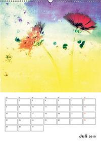Blumige Fotomalerei (Wandkalender 2019 DIN A2 hoch) - Produktdetailbild 7