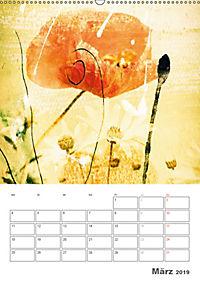 Blumige Fotomalerei (Wandkalender 2019 DIN A2 hoch) - Produktdetailbild 3