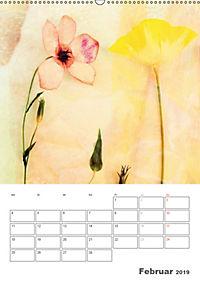 Blumige Fotomalerei (Wandkalender 2019 DIN A2 hoch) - Produktdetailbild 2