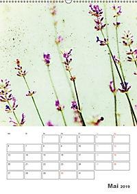Blumige Fotomalerei (Wandkalender 2019 DIN A2 hoch) - Produktdetailbild 5