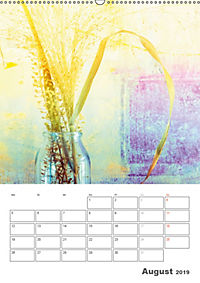 Blumige Fotomalerei (Wandkalender 2019 DIN A2 hoch) - Produktdetailbild 8