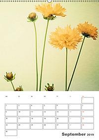 Blumige Fotomalerei (Wandkalender 2019 DIN A2 hoch) - Produktdetailbild 9