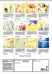 Blumige Fotomalerei (Wandkalender 2019 DIN A2 hoch) - Produktdetailbild 13