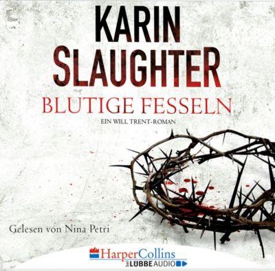 Blutige Fesseln, 6 Audio-CDs, Karin Slaughter
