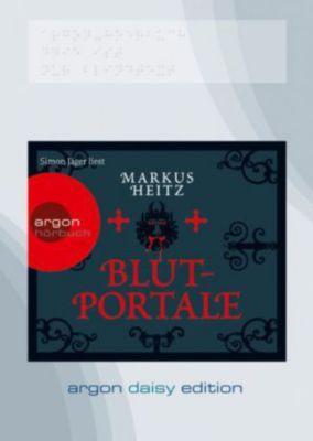 Blutportale, 1 MP3-CD (DAISY Edition), Markus Heitz
