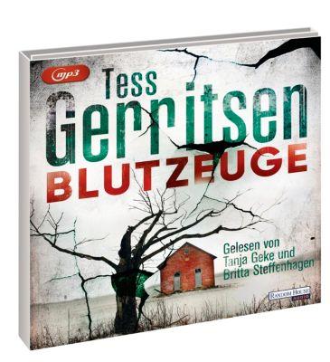 Blutzeuge, 2 MP3-CDs, Tess Gerritsen