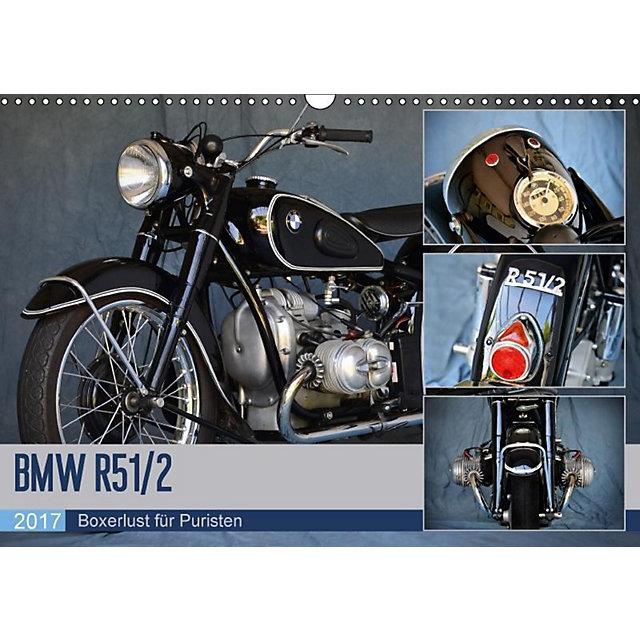 bmw r 51 2 wandkalender 2017 din a3 quer kalender bestellen. Black Bedroom Furniture Sets. Home Design Ideas