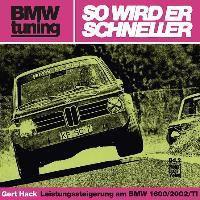 BMW tuning - So wird er schneller, Gert Hack