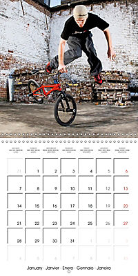 BMX: Big air on a small bike (Wall Calendar 2019 300 × 300 mm Square) - Produktdetailbild 1
