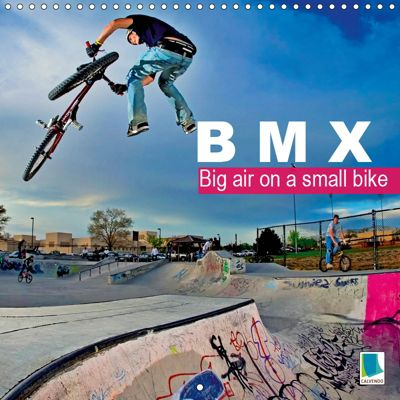 BMX: Big air on a small bike (Wall Calendar 2019 300 × 300 mm Square), CALVENDO