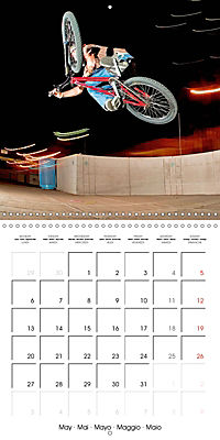 BMX: Big air on a small bike (Wall Calendar 2019 300 × 300 mm Square) - Produktdetailbild 5