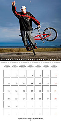 BMX: Big air on a small bike (Wall Calendar 2019 300 × 300 mm Square) - Produktdetailbild 4