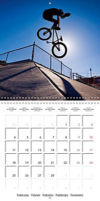 BMX: Big air on a small bike (Wall Calendar 2019 300 × 300 mm Square) - Produktdetailbild 2