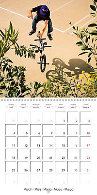 BMX: Big air on a small bike (Wall Calendar 2019 300 × 300 mm Square) - Produktdetailbild 3
