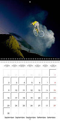 BMX: Big air on a small bike (Wall Calendar 2019 300 × 300 mm Square) - Produktdetailbild 9
