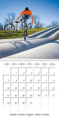 BMX: Big air on a small bike (Wall Calendar 2019 300 × 300 mm Square) - Produktdetailbild 10