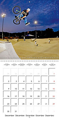 BMX: Big air on a small bike (Wall Calendar 2019 300 × 300 mm Square) - Produktdetailbild 12