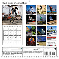 BMX: Big air on a small bike (Wall Calendar 2019 300 × 300 mm Square) - Produktdetailbild 13