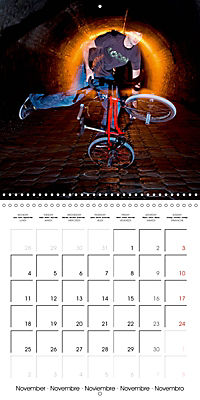 BMX: Big air on a small bike (Wall Calendar 2019 300 × 300 mm Square) - Produktdetailbild 11