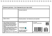Boarisch g'schaut - Vom Haarsee bis zum Isarwinkel (Tischkalender 2019 DIN A5 quer) - Produktdetailbild 13