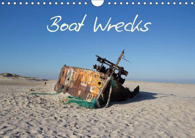Boat Wrecks (Wall Calendar 2019 DIN A4 Landscape), Frauke Gimpel