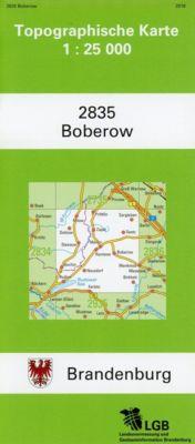 Boberow 1 : 25 000