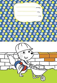 Bobo Siebenschläfer: Kunterbunter Malspaß Baustelle - Produktdetailbild 2