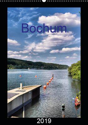 Bochum (Wandkalender 2019 DIN A2 hoch), Uwe Reschke
