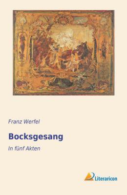 Bocksgesang - Franz Werfel |