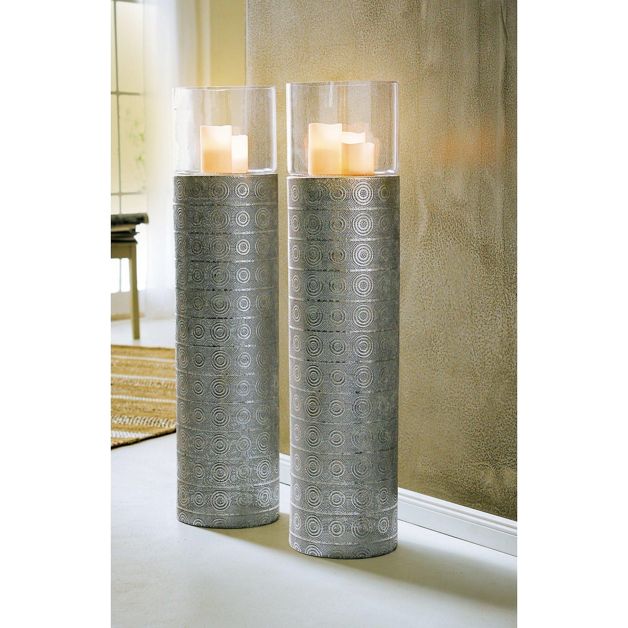 Boden Windlicht Silver Oriental Silberfarben Weltbild De