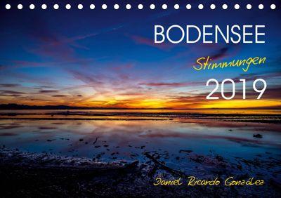 Bodensee - Stimmungen (Tischkalender 2019 DIN A5 quer), Daniel Ricardo Gonzalez