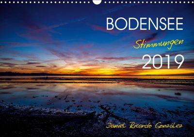 Bodensee - Stimmungen (Wandkalender 2019 DIN A3 quer), Daniel Ricardo Gonzalez