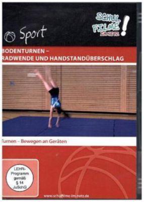 Bodenturnen - Radwende und Handstandüberschlag, 1 DVD