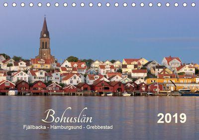 Bohuslän Fjällbacka - Hamburgsund - Grebbestad 2019 (Tischkalender 2019 DIN A5 quer), Klaus Kolfenbach