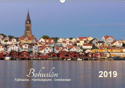 Bohuslän Fjällbacka - Hamburgsund - Grebbestad 2019 (Wandkalender 2019 DIN A3 quer), Klaus Kolfenbach