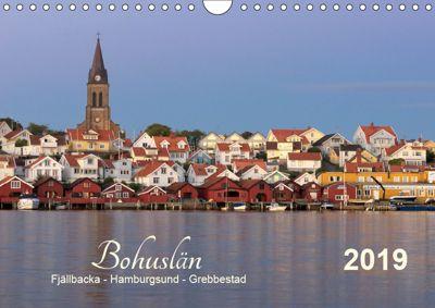 Bohuslän Fjällbacka - Hamburgsund - Grebbestad 2019 (Wandkalender 2019 DIN A4 quer), Klaus Kolfenbach