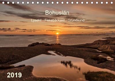 Bohuslän. Lysekil - Fiskebäckskil - Grundsund (Tischkalender 2019 DIN A5 quer), Klaus Kolfenbach