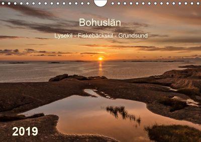Bohuslän. Lysekil - Fiskebäckskil - Grundsund (Wandkalender 2019 DIN A4 quer), Klaus Kolfenbach