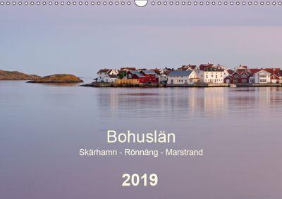 Bohuslän. Skärhamn - Rönnäng - Marstrand (Wandkalender 2019 DIN A3 quer), Klaus Kolfenbach