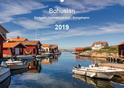 Bohuslän. Smögen - Hunnebostrand - Kungshamn (Wandkalender 2019 DIN A2 quer), Klaus Kolfenbach