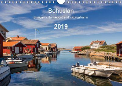 Bohuslän. Smögen - Hunnebostrand - Kungshamn (Wandkalender 2019 DIN A4 quer), Klaus Kolfenbach