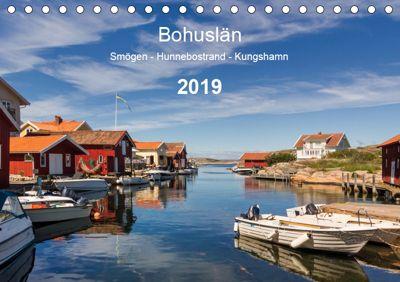Bohuslän. Smögen - Hunnebostrand - Kungshamn (Tischkalender 2019 DIN A5 quer), Klaus Kolfenbach