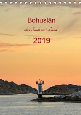 Bohuslän - über Stadt und Land (Tischkalender 2019 DIN A5 hoch), Klaus Kolfenbach