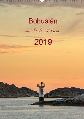 Bohuslän - über Stadt und Land (Wandkalender 2019 DIN A2 hoch), Klaus Kolfenbach
