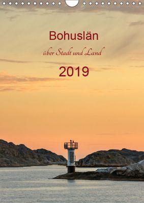 Bohuslän - über Stadt und Land (Wandkalender 2019 DIN A4 hoch), Klaus Kolfenbach
