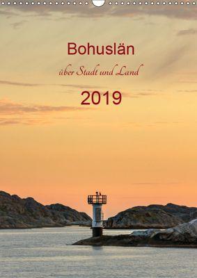 Bohuslän - über Stadt und Land (Wandkalender 2019 DIN A3 hoch), Klaus Kolfenbach