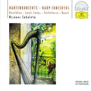 Boieldieu / Saint-Saëns / Tailleferre / Ravel: Harp Concertos, Nicanor Zabaleta, Onortf, Rsob