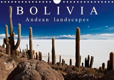 Bolivia Andean landscapes / UK-Version (Wall Calendar 2019 DIN A4 Landscape), Jürgen Ritterbach